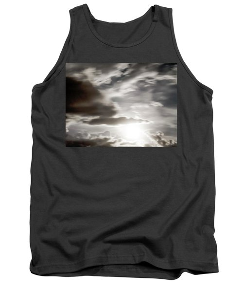 Tank Top featuring the photograph Night Sky 5 by Leland D Howard
