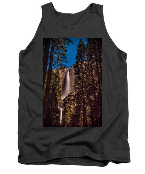 Night Sky At Yosemite Falls Tank Top