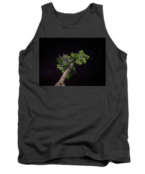 Night Tree Tank Top