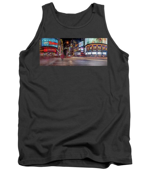 Tank Top featuring the photograph Nights On Broadway by Az Jackson