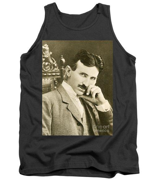 Nikola Tesla, Serbian-american Inventor Tank Top