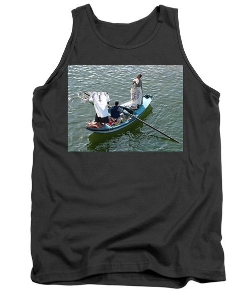 Nile River Merchants Tank Top
