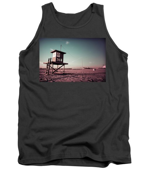 Tank Top featuring the photograph No Lifeguard On Duty by Joseph Westrupp