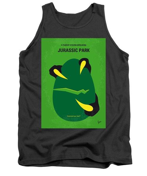 No047 My Jurassic Park Minimal Movie Poster Tank Top