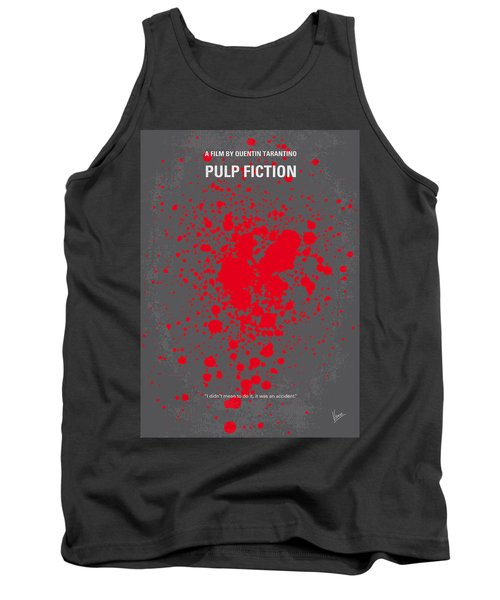 No067 My Pulp Fiction Minimal Movie Poster Tank Top
