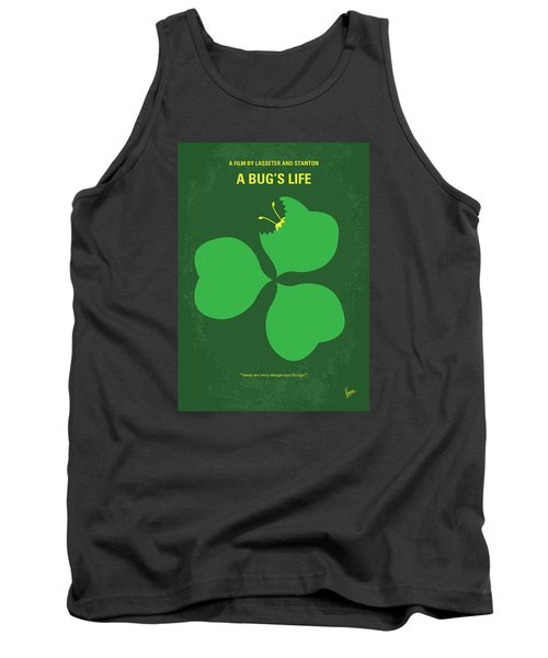 No401 My A Bugs Life Minimal Movie Poster Tank Top