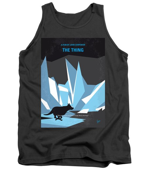 No466 My The Thing Minimal Movie Poster Tank Top