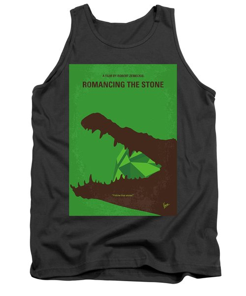 No732 My Romancing The Stone Minimal Movie Poster Tank Top