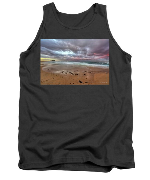 Nobbys Beach At Sunset Tank Top