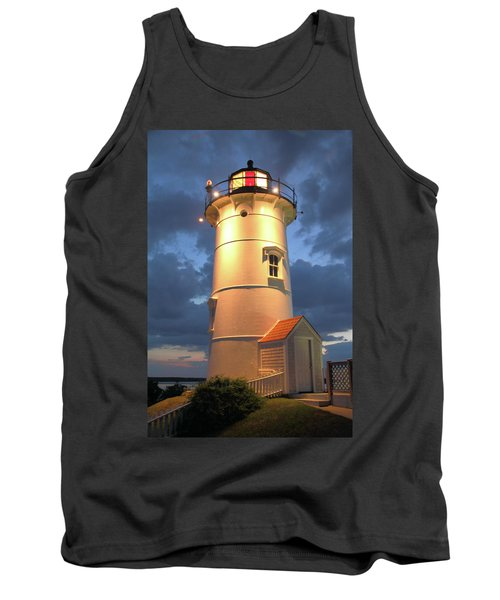 Tank Top featuring the photograph Nobska Point Lighthouse by Roupen  Baker