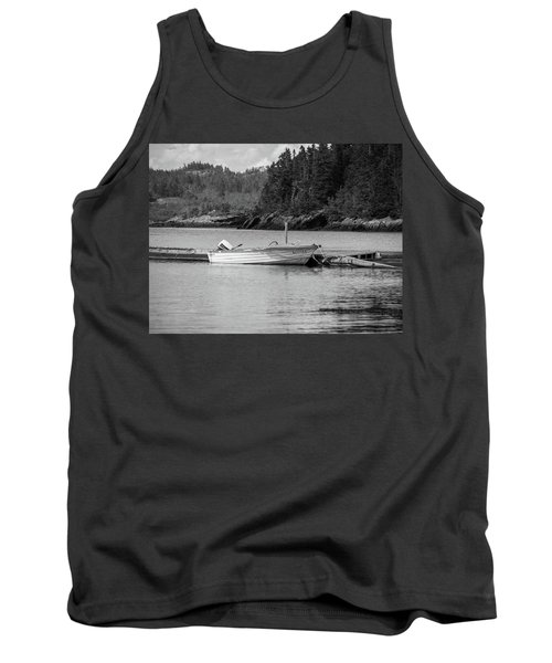 Noca Scotia In Black And White  Tank Top by Trace Kittrell