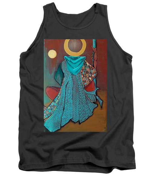 Nor The Moon By Night Tank Top