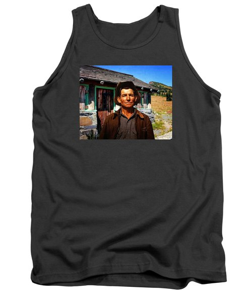 Tank Top featuring the photograph Norris' New Digs by Timothy Bulone