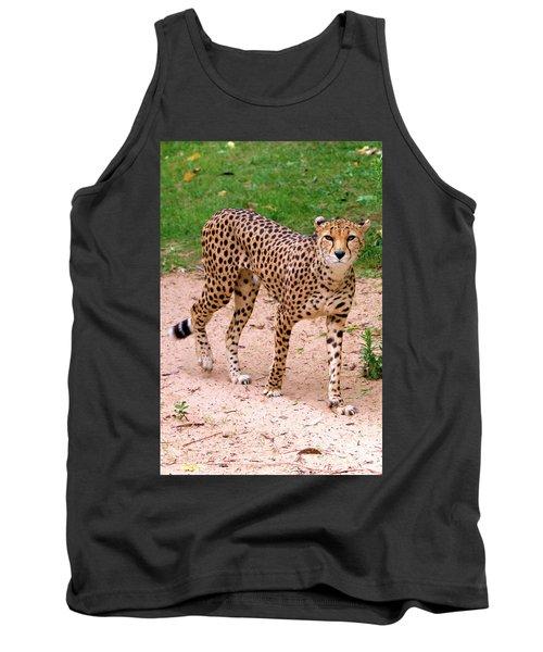 North African Cheetah Tank Top