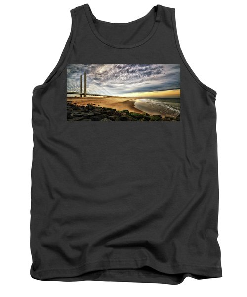 North Beach At Indian River Inlet Tank Top