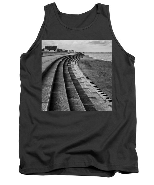 North Beach, Heacham, Norfolk, England Tank Top