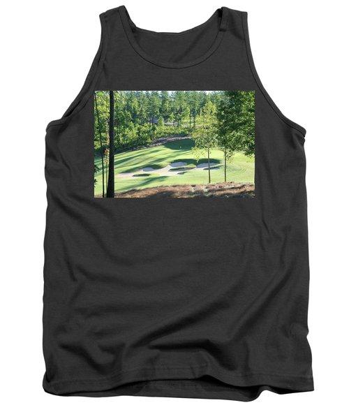 North Carolina Golf Course 12th Hole Tank Top