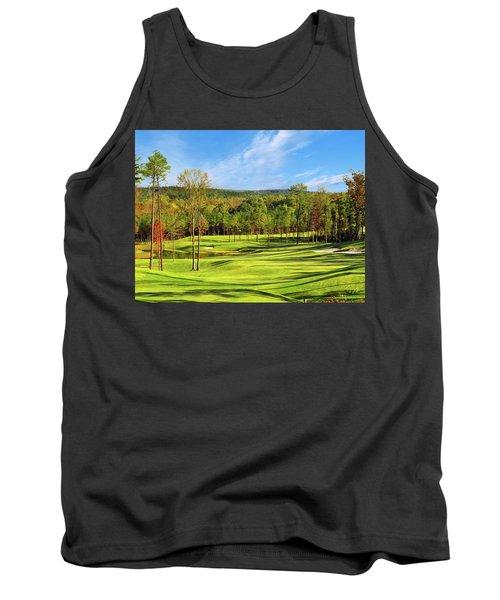 North Carolina Golf Course 14th Hole Tank Top