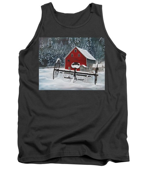North Country Winter Tank Top