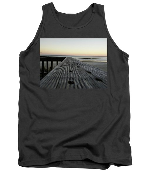 Tank Top featuring the photograph North Myrtle Beach Evening by Robert Knight