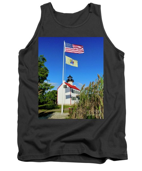 North Wind At East Point Light Tank Top