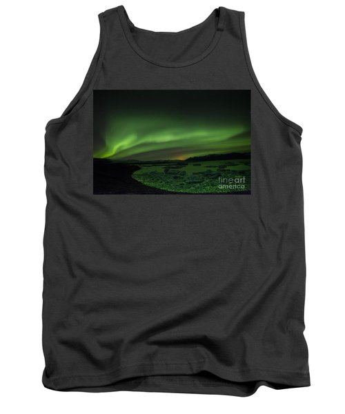 Tank Top featuring the photograph Northern Lights 3 by Mariusz Czajkowski