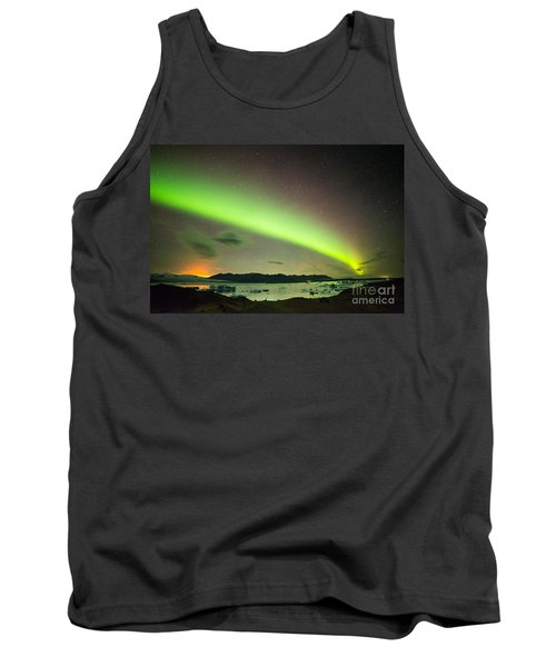 Tank Top featuring the photograph Northern Lights 6 by Mariusz Czajkowski