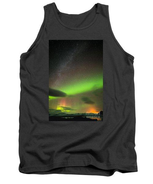 Tank Top featuring the photograph Northern Lights 8 by Mariusz Czajkowski