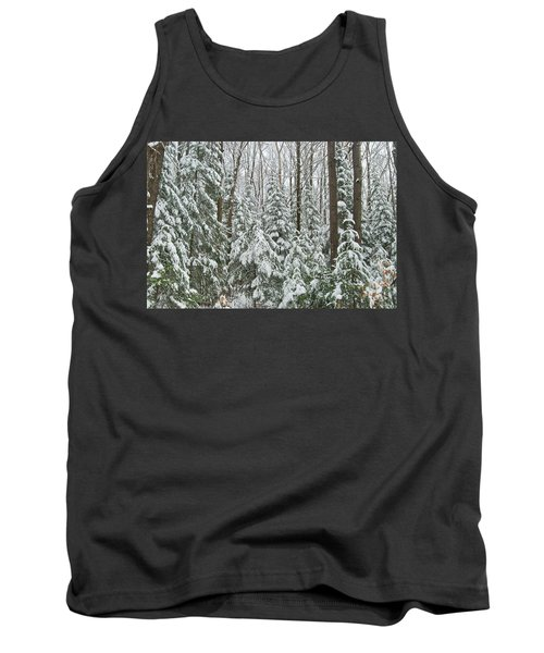 Northern Winter Tank Top by Michael Peychich