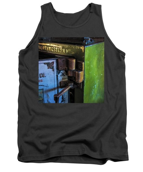 Tank Top featuring the photograph Northwestern Safe by Paul Freidlund