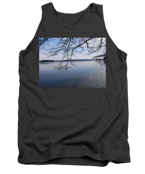 Tank Top featuring the digital art Not A Ripple by Barbara S Nickerson