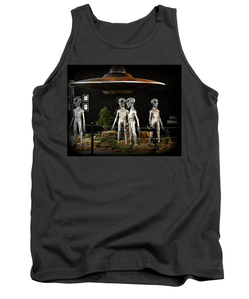 Not Of This Earth Tank Top