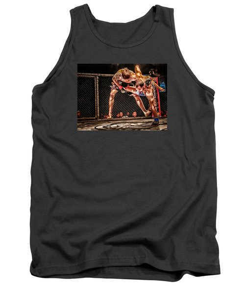 Tank Top featuring the photograph Not Today by Michael Rogers