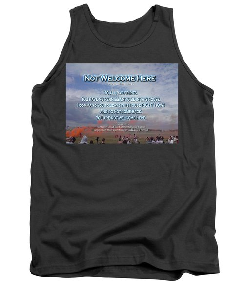 Not Welcome Here Tank Top