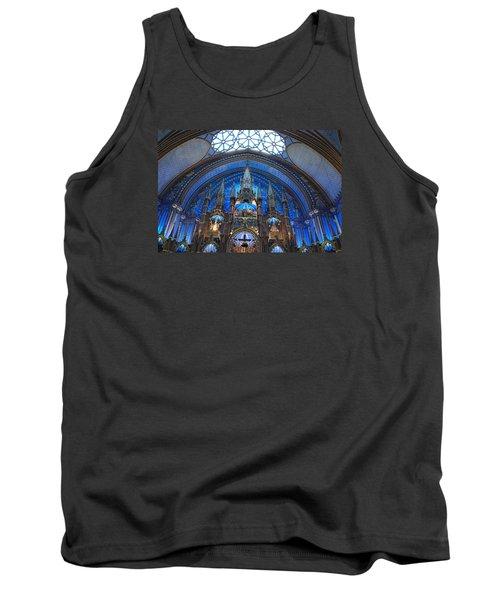Notre Dame Basilica Tank Top by John Schneider