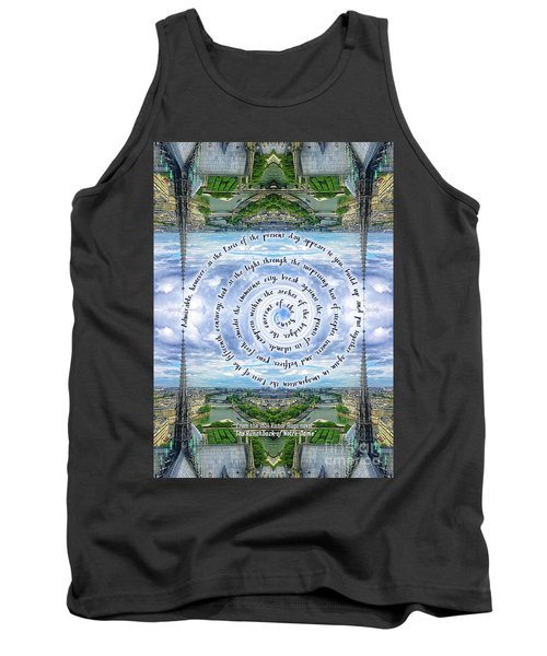 Notre-dame Cathedral Spire Paris Victor Hugo Novel Tank Top
