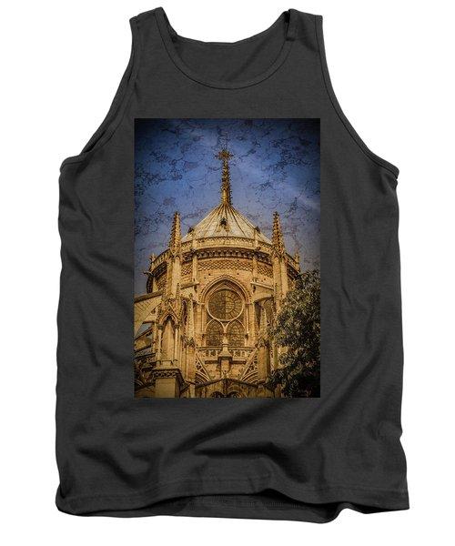 Paris, France - Notre-dame De Paris - Apse Tank Top