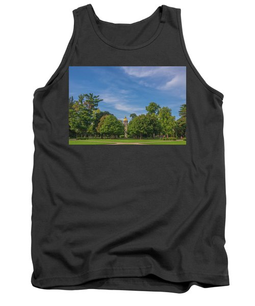 Tank Top featuring the photograph Notre Dame University 6 by David Haskett