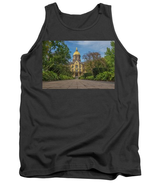 Tank Top featuring the photograph Notre Dame University Q by David Haskett