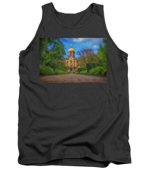 Notre Dame University Q2 Tank Top
