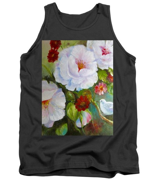 Tank Top featuring the painting Noubliable  by Patricia Schneider Mitchell