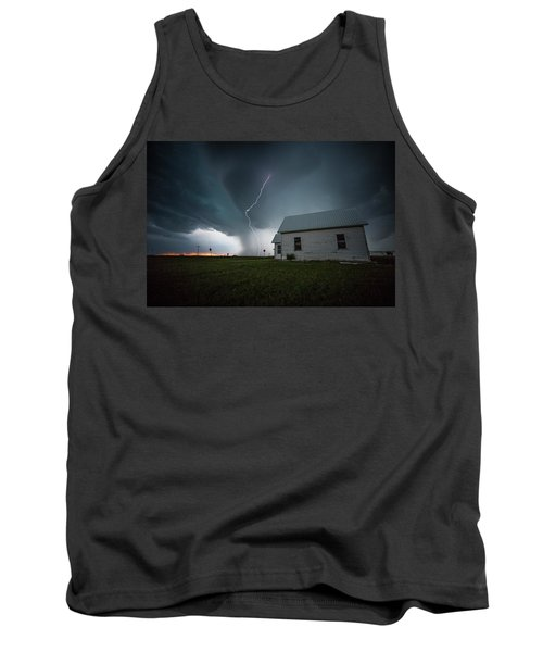 Tank Top featuring the photograph Nowhere To Run by Aaron J Groen