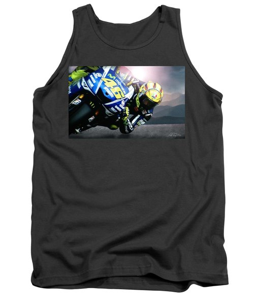 Number 46 Tank Top by Bill Stephens