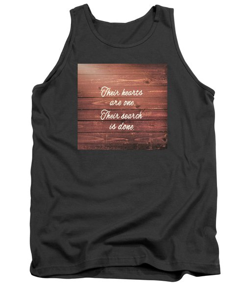 Nuptial Note Tank Top by JAMART Photography