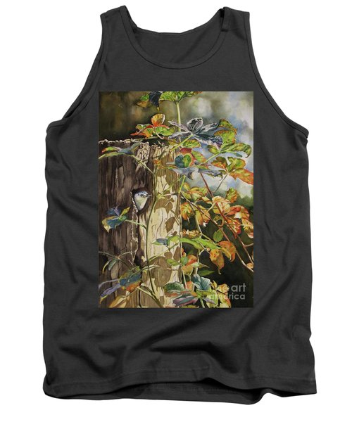 Nuthatch And Creeper Tank Top