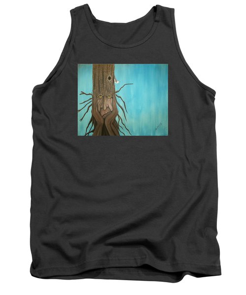 Nuthatch Tank Top by Edwin Alverio
