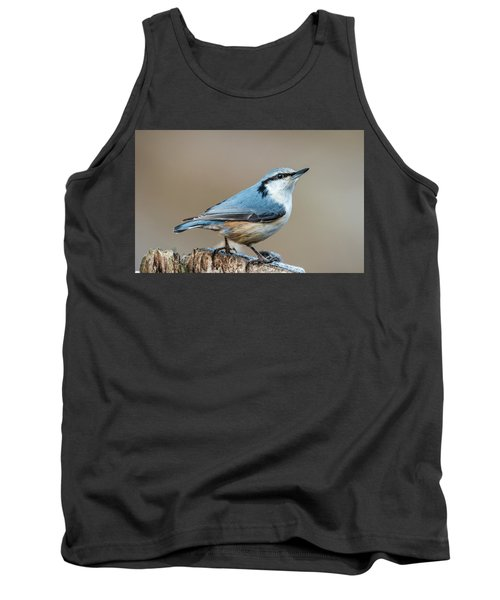 Nuthatch's Pose Tank Top by Torbjorn Swenelius