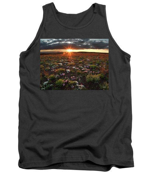 Tank Top featuring the photograph Nuttalls Linanthastrum by Leland D Howard