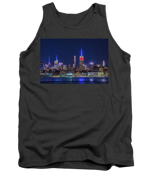 Nyc At The Blue Hour Tank Top