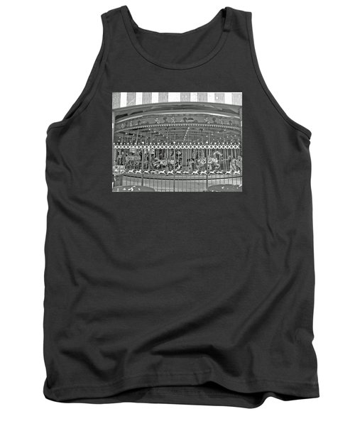 Nyc Central Park Carousel Tank Top
